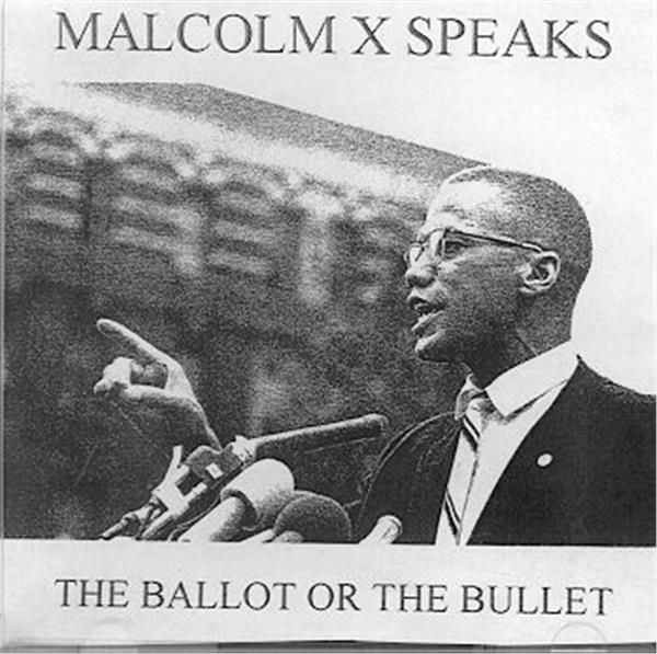 """rhetorical analysis the ballot or the bullet Download pdf version of: malcolm x-the ballot or the bullet malcolm x delivered another version of """"the ballot or the bullet"""" in harlem on march 29, 1964 this version included malcolm's now infamous """"plymouth rock"""" reference."""